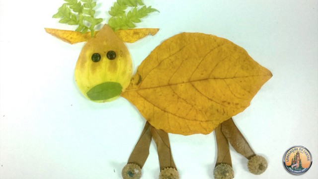 Leaf Animal Art