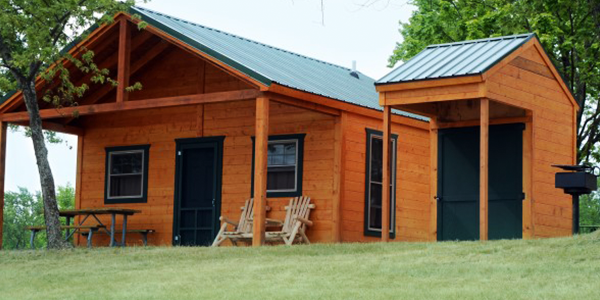 Camp dearborn milford michigan lakeshore rv blog for Permanent tent cabins