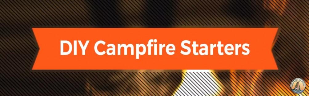 DIY campfire starter