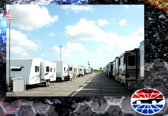 Camping at Texas Motor Speedway