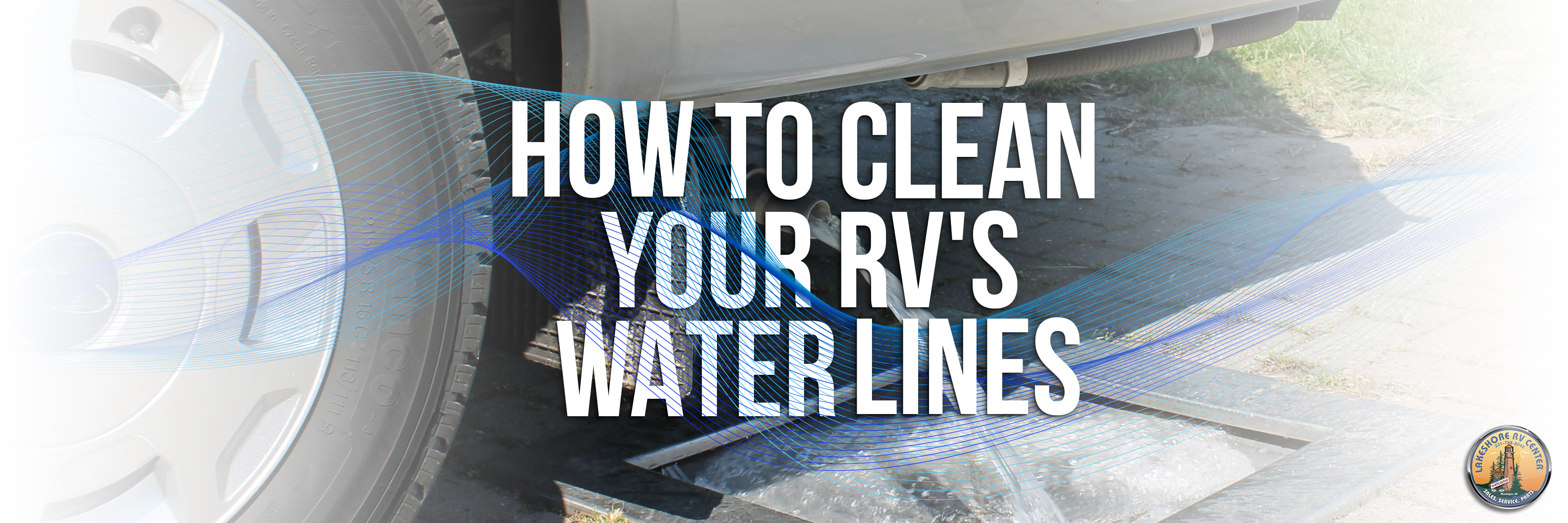 how to clean Rv water lines