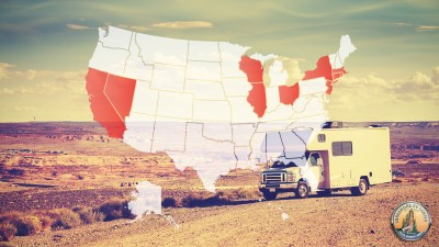 Worst States for Retirement for the RV Enthusiast