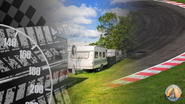 Camping In The Infield At Daytona International Speedway