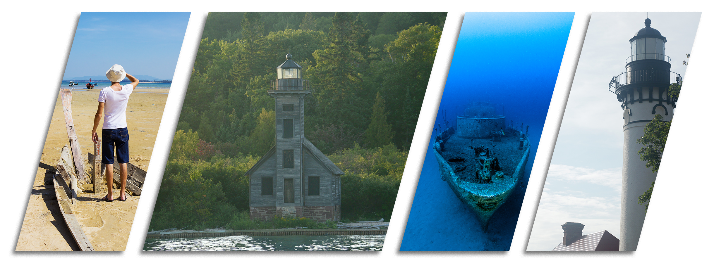 Historical Sites Pictured Rocks