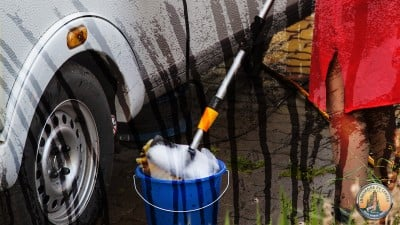 Removing Black Streaks from Your RV