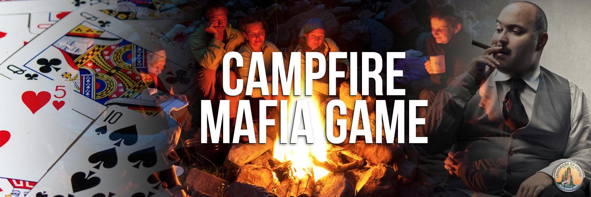 campfire mafia game banner