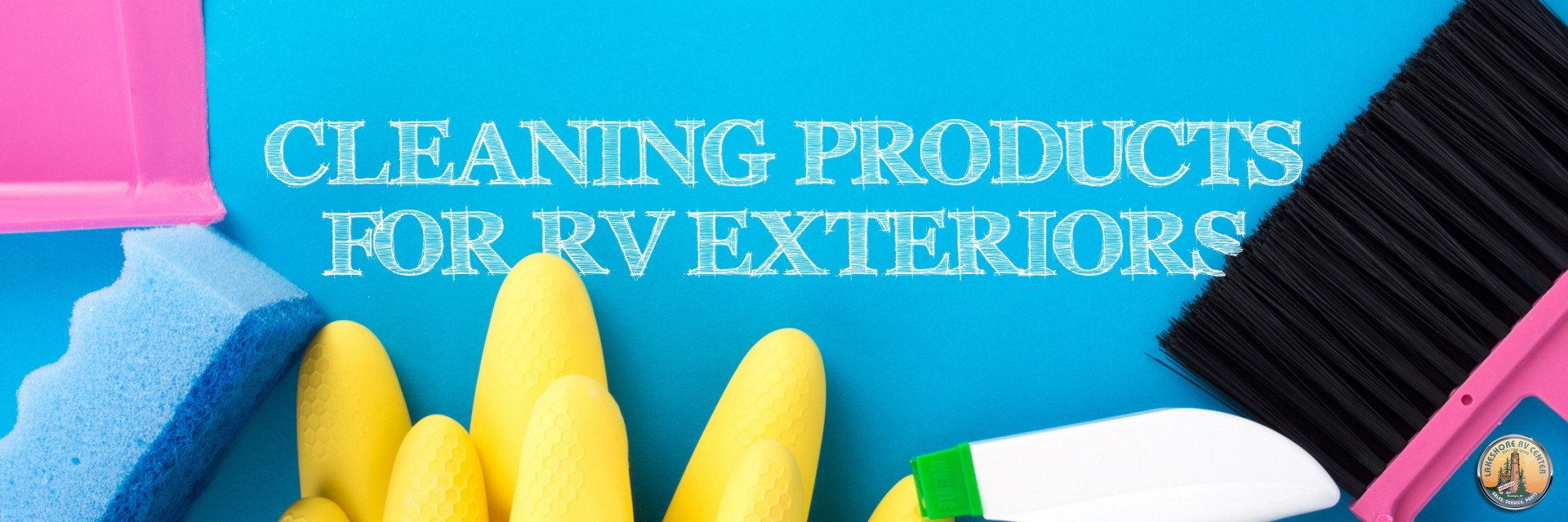 cleaning products for RV