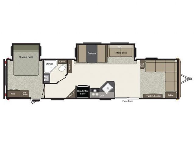 2016 Springdale 38fl Floor Plan