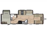 2018 Springdale 38BH Floor Plan