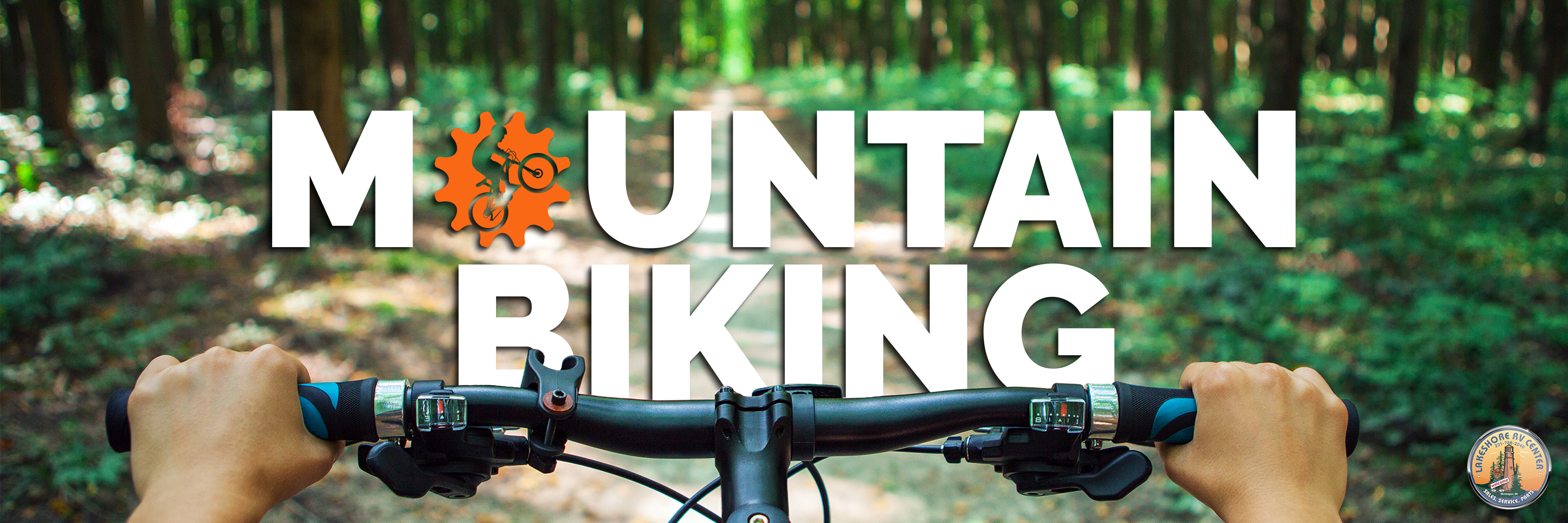 mt biking banner