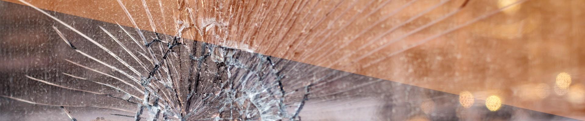 Broken Glass RV Road Safety