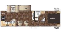 2016 Cherokee 274RK Floor Plan