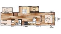 2016 Wildwood 32BHDS Floor Plan