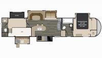 2016 Gateway 3800RLB Floor Plan