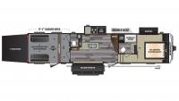 2017 Impact 361 Floor Plan
