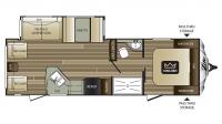 2017 Cougar Xlite 28RLS Floor Plan