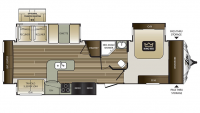 2016 Cougar Xlite 33SAB Floor Plan