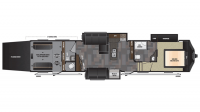 2017 Fuzion 414 Floor Plan