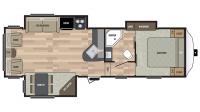 2017 Springdale 278FWRL Floor Plan