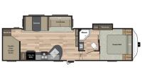 2017 Springdale 286FWBH Floor Plan