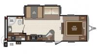 2017 Sprinter Campfire Edition 26RB Floor Plan