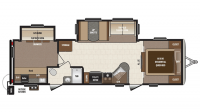 2017 Sprinter Campfire Edition 31BH Floor Plan