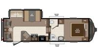 2017 Sprinter Limited 252FWRLS Floor Plan