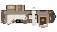 2017 Sprinter Limited 269FWRLS Floor Plan