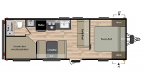 2019 Summerland 2600TB Floor Plan