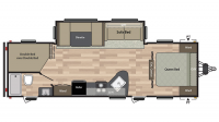 2018 Summerland 2820BH Floor Plan