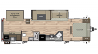 2019 Summerland 3030BH Floor Plan
