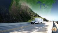 RV Travel Road US map