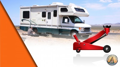 Changing RV tire