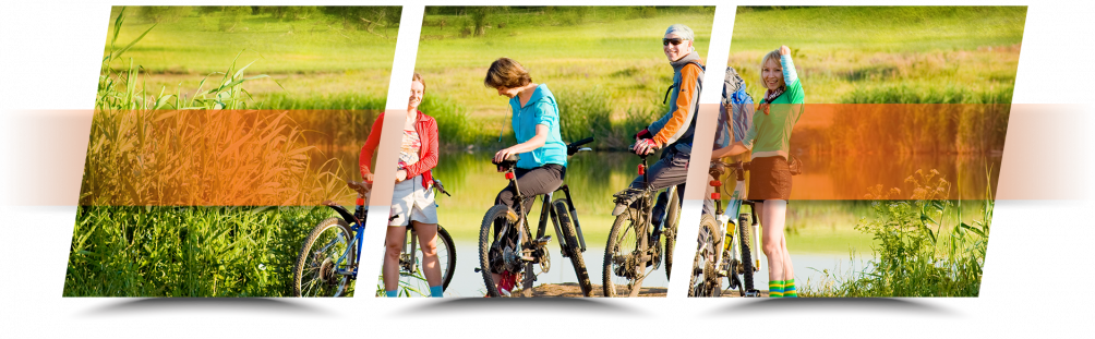 Enjoy biking with family on your RV trip