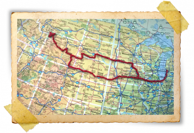 Hand-Stitched Route