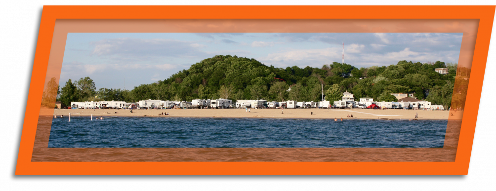 Enjoy Grand Haven State Park and the large beaches off Lake Michigan