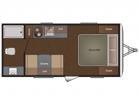 2015 Summerland 1700FQ Floor Plan