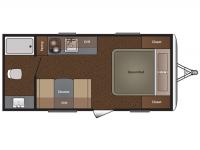 2015 Summerland 1700FQ Floor Plan