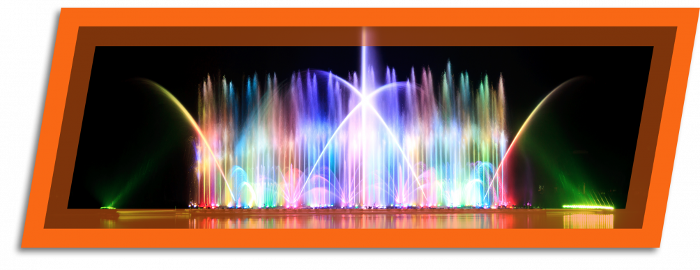enjoy the largest musical fountain in the world on the channel in Grand Haven Michigan