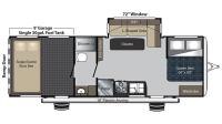 2017 Carbon 27 Floor Plan
