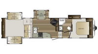 2017 Cougar 326RDS Floor Plan