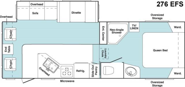 2006 Cougar 276efs Floor Plan