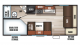 2018 Grey Wolf 17BHSE SPECIAL EDITION Floor Plan