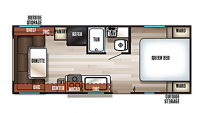 2019 Grey Wolf 20RDSE SPECIAL EDITION Floor Plan