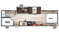 2019 Grey Wolf 26CKSE SPECIAL EDITION Floor Plan