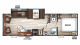 2018 Grey Wolf 26RL Floor Plan
