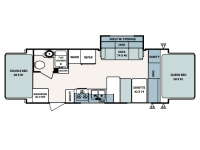 2008 Surveyor 233T Floor Plan