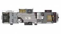 2017 Carbon 417 Floor Plan