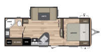 2017 Springdale 235RB Floor Plan