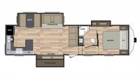 2017 Springdale 302FWRK Floor Plan